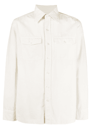 Tom Ford slim fit shirt - NEUTRALS