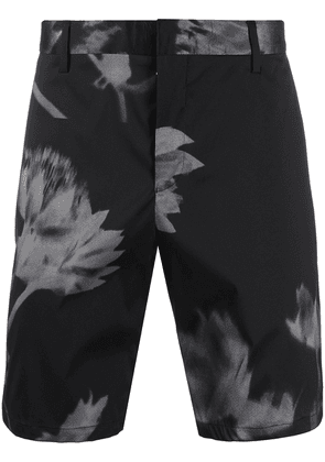 Paul Smith floral printed tailored shorts - Black
