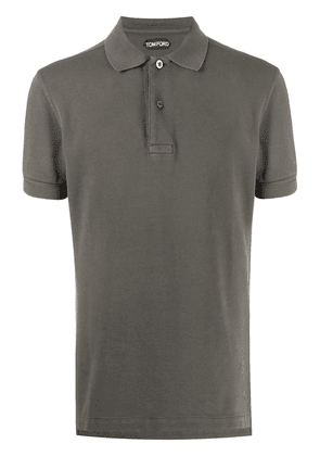 Tom Ford plain polo shirt - Grey