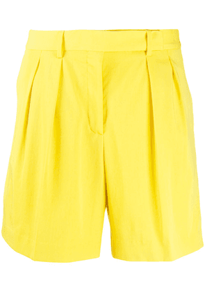 Paul Smith high-waisted tailored shorts - Yellow