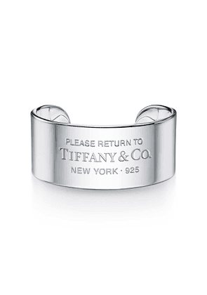 Return to Tiffany™ wide cuff in sterling silver, large