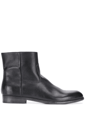 Buttero textured ankle boots - Black