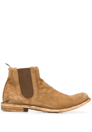 Officine Creative Ideal suede ankle boots - Brown