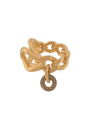 Agnona chain link ring - GOLD