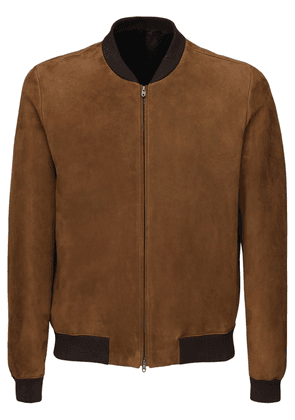 Curt Suede Bomber Jacket