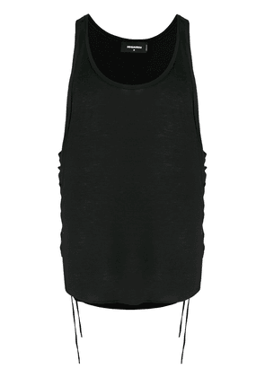 Dsquared2 lace-up vest - Black