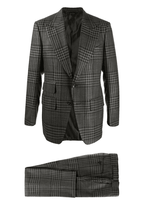 Tom Ford checked two-piece suit - Grey