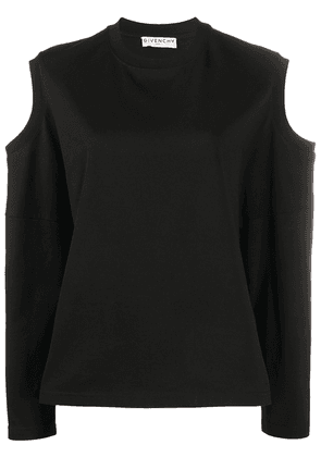 Givenchy cut-out detailed blouse - Black