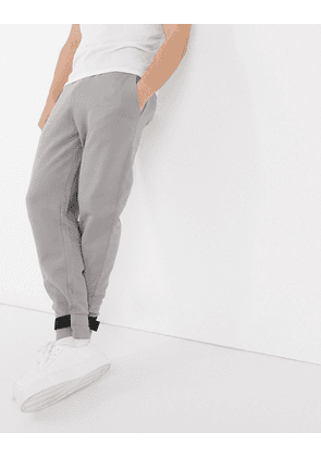 ASOS DESIGN balloon joggers with ankle tabs in grey