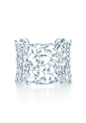 Paloma Picasso® Olive Leaf cuff in sterling silver, medium
