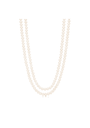 Ziegfeld Collection necklace of freshwater cultured pearls - Size 6-7 mm