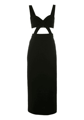 Dolce & Gabbana cut-out midi dress - Black