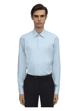 Slim Stretch Cotton Poplin Shirt