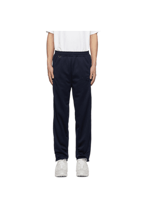 Doublet Navy Chaos Embroidery Track Pants