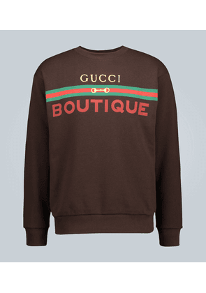 Boutique printed sweatshirt
