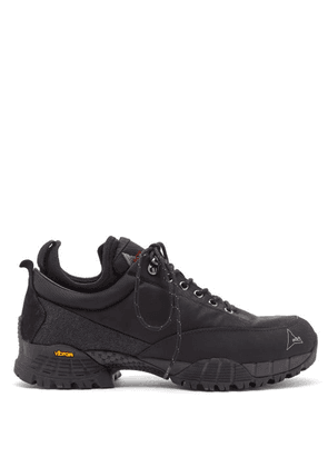 ROA - Neal Lace-up Hiking Shoes - Mens - Black