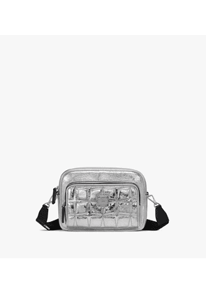 Klassik Crossbody In Quilted Diamond Leather