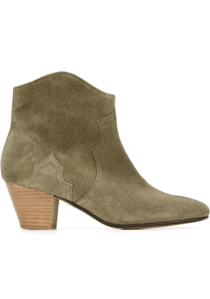 Isabel Marant Étoile 'Dicker' ankle boots - Green
