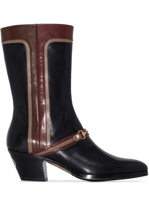 Gucci Zhara leather boots - Black