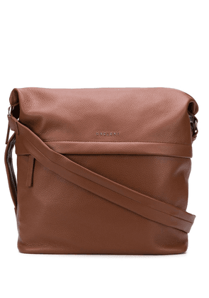 Orciani fold-over shoulder bag - Brown