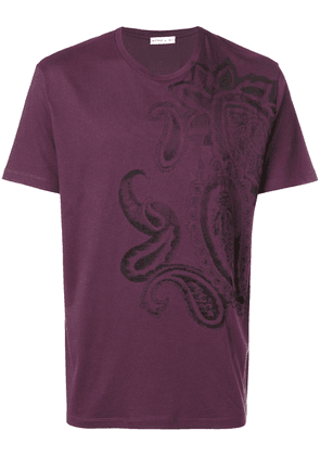 Etro embroidered T-shirt - PINK