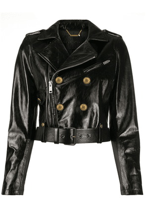 Givenchy leather biker jacket - Black