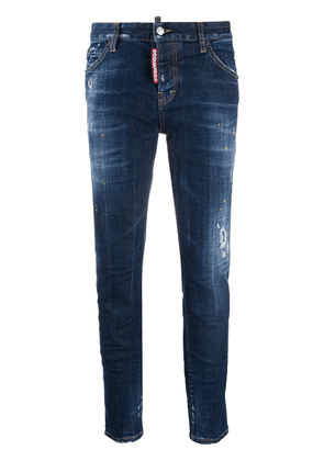 Dsquared2 distressed skinny jeans - Blue