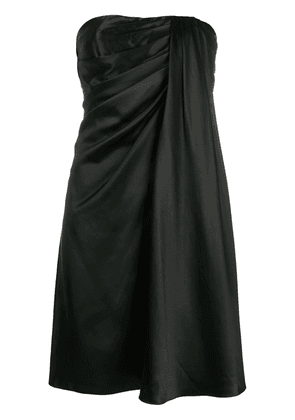 Dolce & Gabbana draped sleeveless mini dress - Black