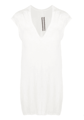 Rick Owens oversized tank top - White