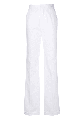 Dsquared2 high-waist tailored trousers - White