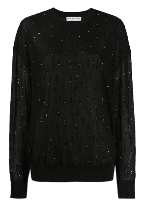 Givenchy sequin-embellished jumper - Black