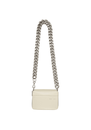Kara White Large Bike Wallet Bag