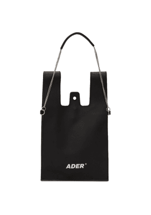 ADER error Black Plastic Cross Shoulder Bag