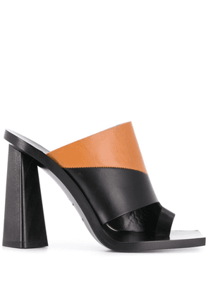 Givenchy two-tone block heel sandals - Black