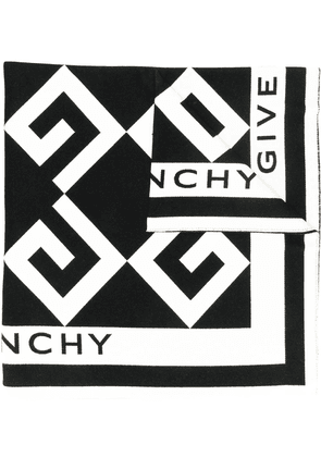 Givenchy Oversized logo scarf - Black
