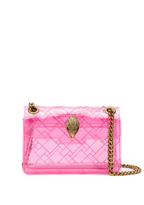 Kurt Geiger London transparent mini Kensington bag - PINK