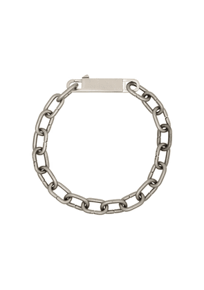 Rick Owens chain-link choker necklace - SILVER