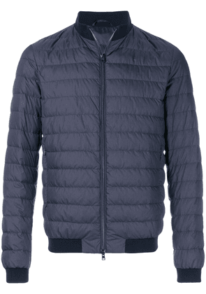 Herno padded bomber jacket - Blue