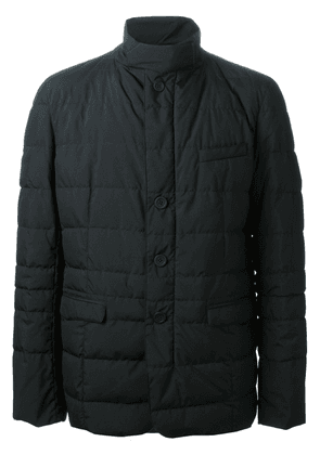 Herno funnel neck padded jacket - Black