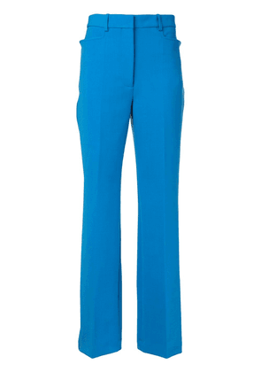 Victoria Beckham high-waisted tailored trousers - Blue