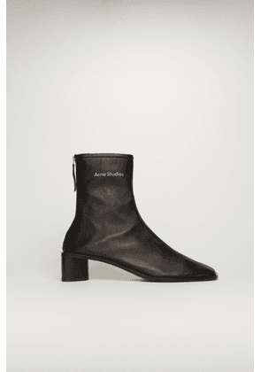 Acne Studios FN-WN-SHOE000355 Black/black  Branded leather boots