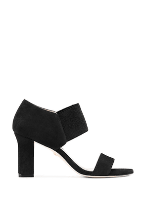 Stuart Weitzman - The Ezra 80 Sandal In Black - Size 39