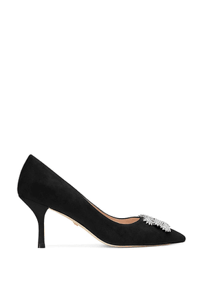 Stuart Weitzman - The Kelsey 75 Pump In Black - Size 35