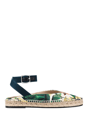 Stuart Weitzman - The Toga Flat In Green - Size 39.5