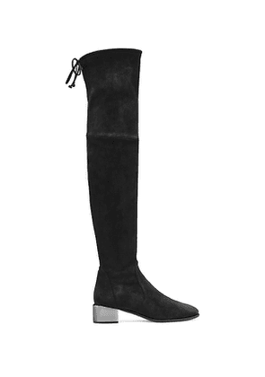 Stuart Weitzman - The Charolet Boot In Black - Size 38.5
