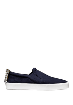Stuart Weitzman - The Harlow Sneaker In French Navy - Size 39.5