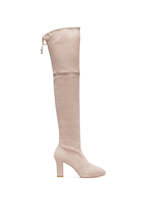 Stuart Weitzman - The Ledyland Boot In Dolce Taupe - Size 38.5
