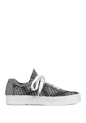 Stuart Weitzman - The Gaming Sneaker In Black And White - Size 40.5