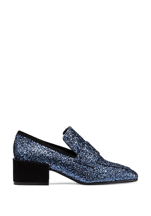 Stuart Weitzman - The Sawyer Loafer In Night Sky Blue - Size 41