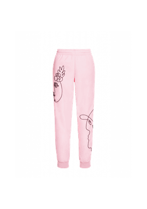 Trousers In Technical Rep With Cornely Embroidery